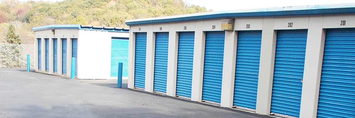 many sizes of storage units